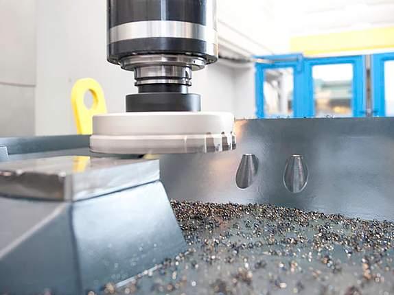 Bearbeitung eines Werkstückes im Werkzeugbau